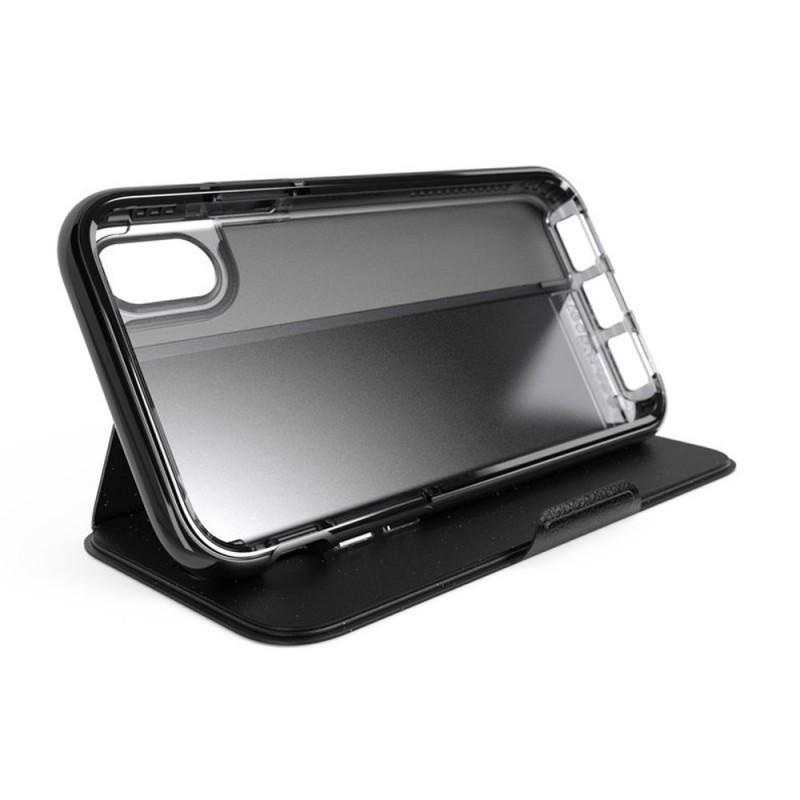 Tech21 Evo Wallet iPhone X/XS Hoes Zwart 11