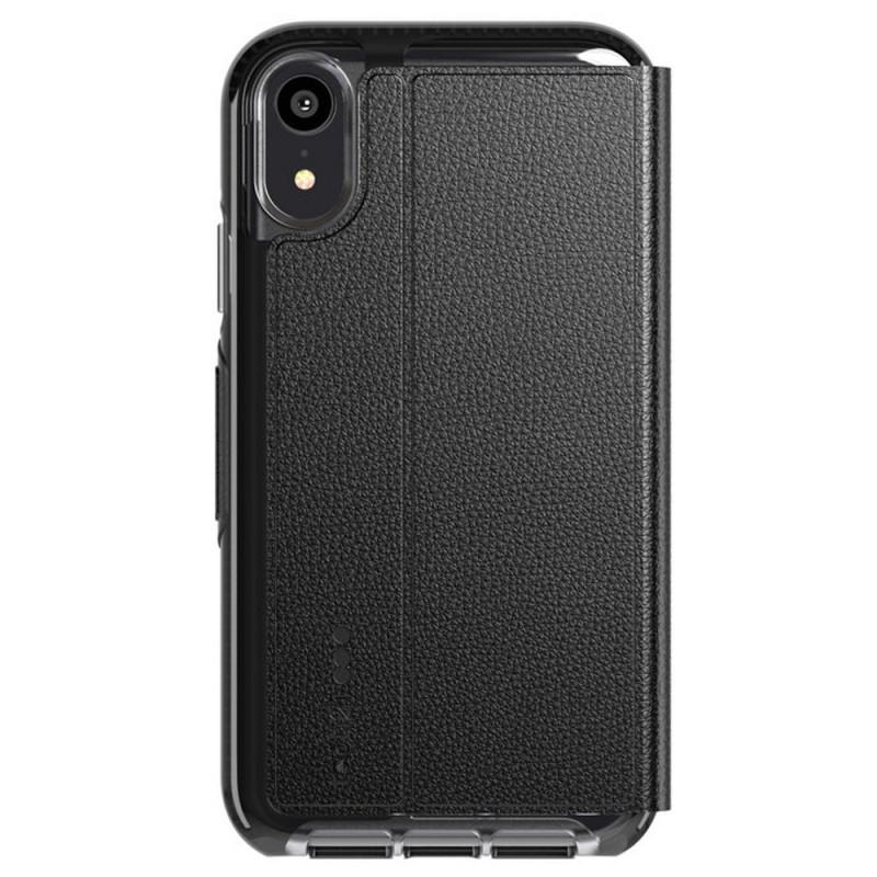 Tech21 Evo Wallet iPhone XR Case Zwart 02