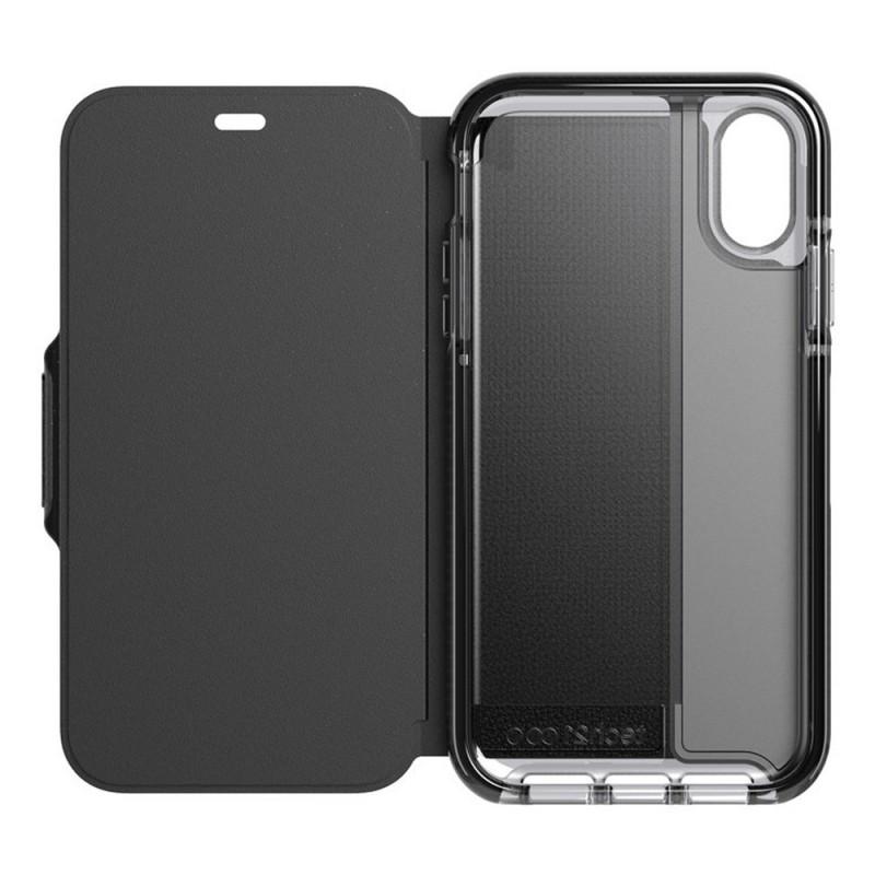 Tech21 Evo Wallet iPhone XR Case Zwart 05
