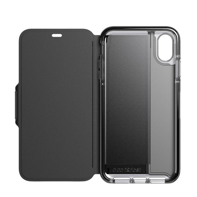 Tech21 Evo Wallet iPhone XS Max Hoesje Zwart 04