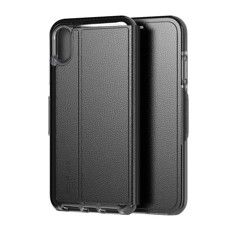 Tech21 Evo Wallet iPhone XS Max Hoesje Zwart 09