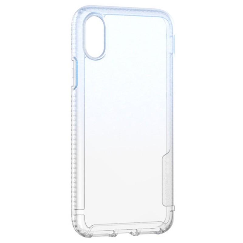 Tech21 Pure Shimmer Case iPhone X/XS Blauw 02