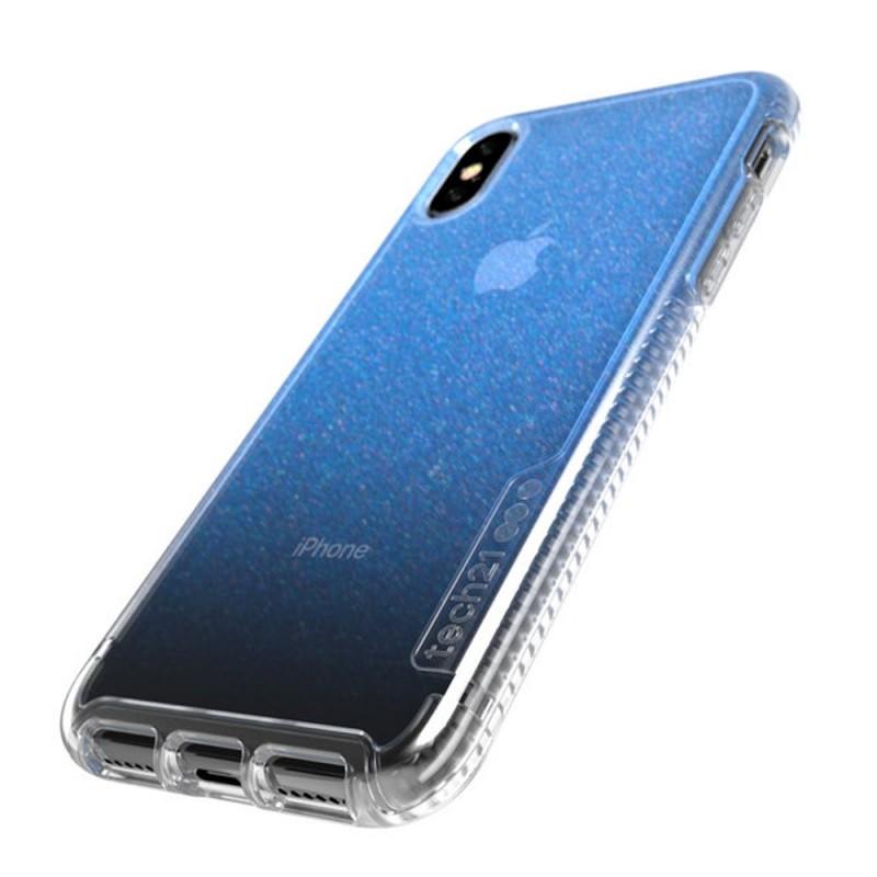 Tech21 Pure Shimmer Case iPhone X/XS Blauw 03