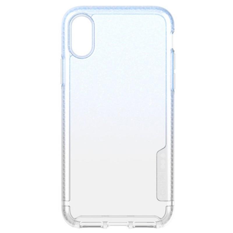 Tech21 Pure Shimmer Case iPhone X/XS Blauw 04