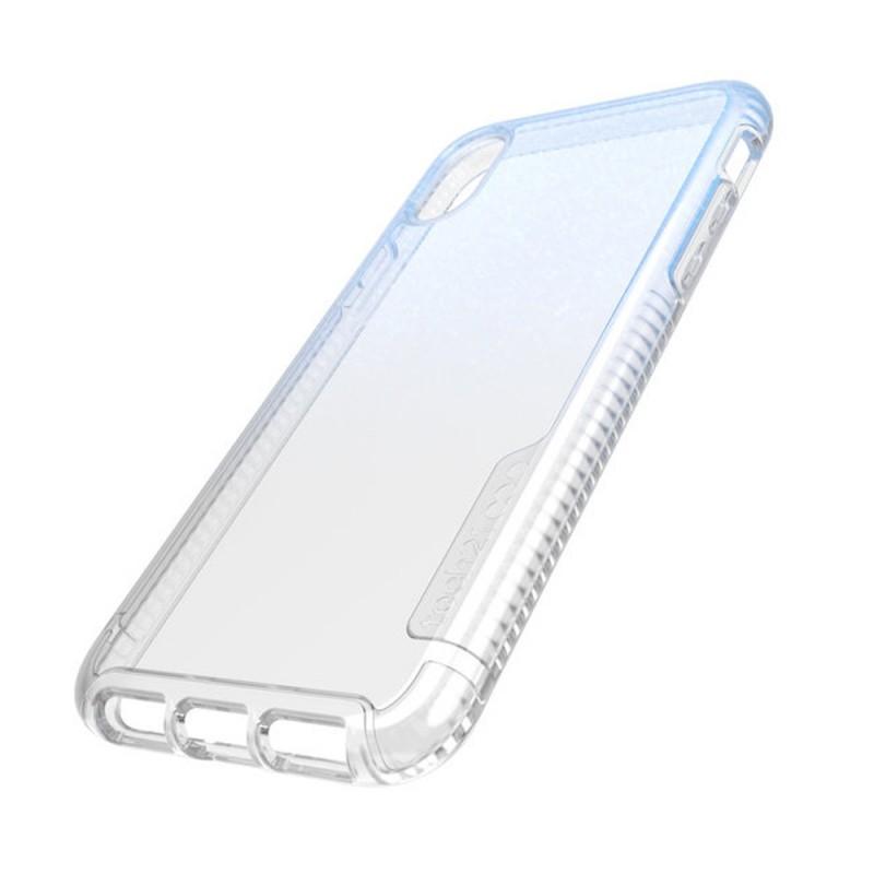 Tech21 Pure Shimmer Case iPhone X/XS Blauw 08