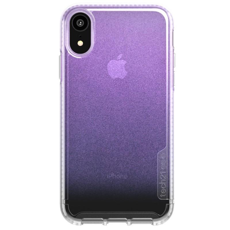 Tech21 Pure Shimmer iPhone XR Hoesje Roze Transparant 01