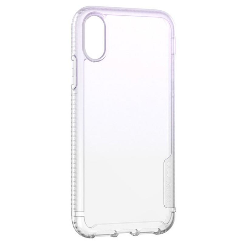 Tech21 Pure Shimmer iPhone XR Hoesje Roze Transparant 04