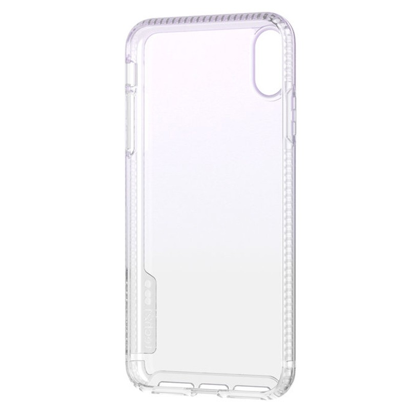 Tech21 Pure Clear iPhone XS Max Case Gradient Blue 05