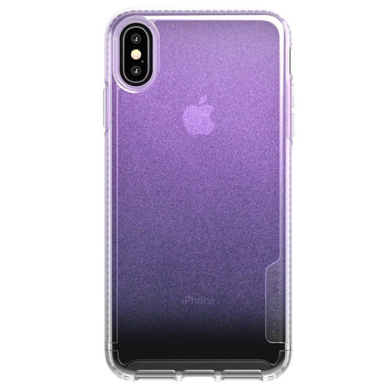Tech21 Pure Clear iPhone XS Max Case Gradient Pink 01