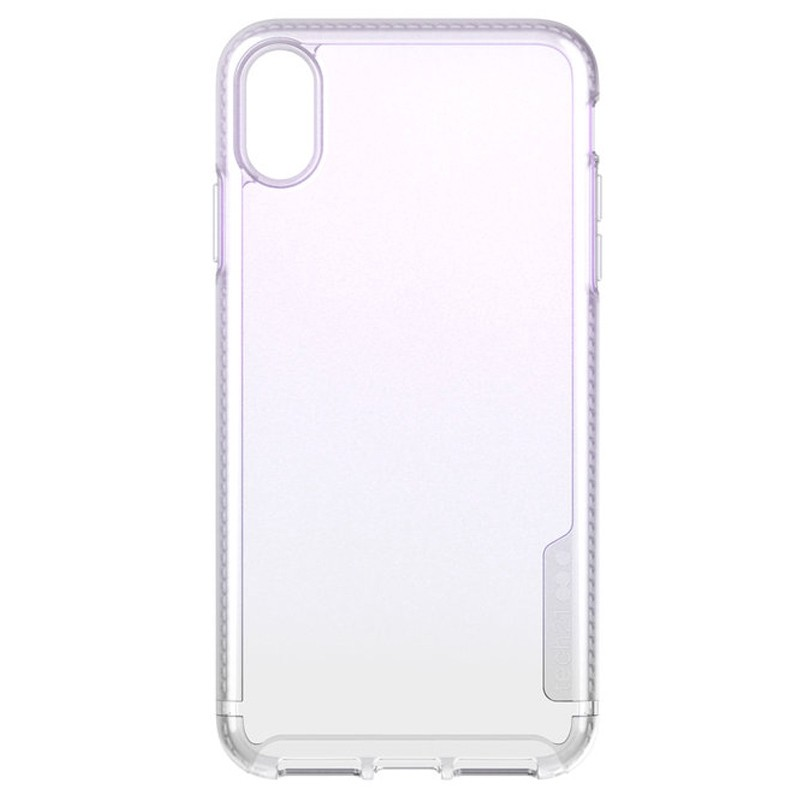 Tech21 Pure Clear iPhone XS Max Case Gradient Pink 07