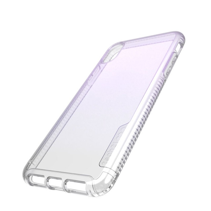 Tech21 Pure Clear iPhone XS Max Case Gradient Pink 08