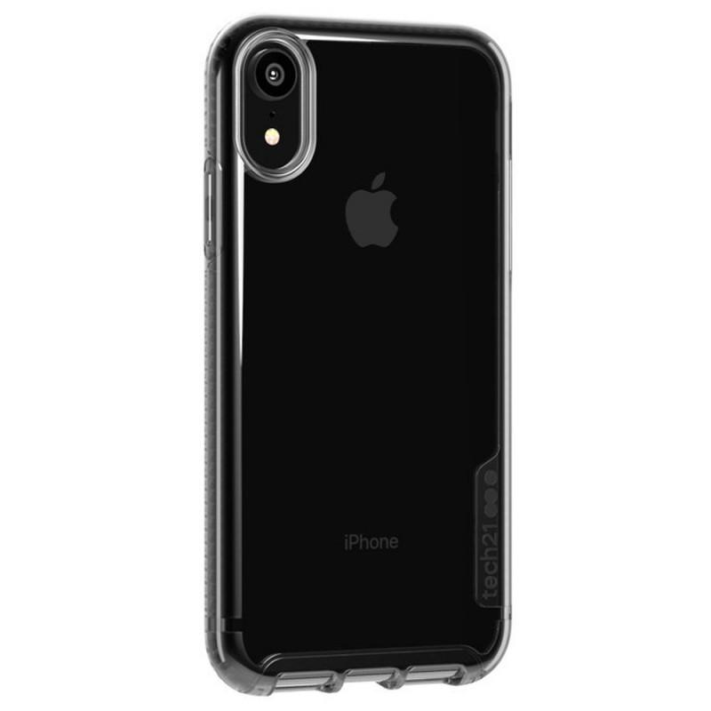 Tech21 Pure Carbon iPhone XR Case Carbon Zwart 02