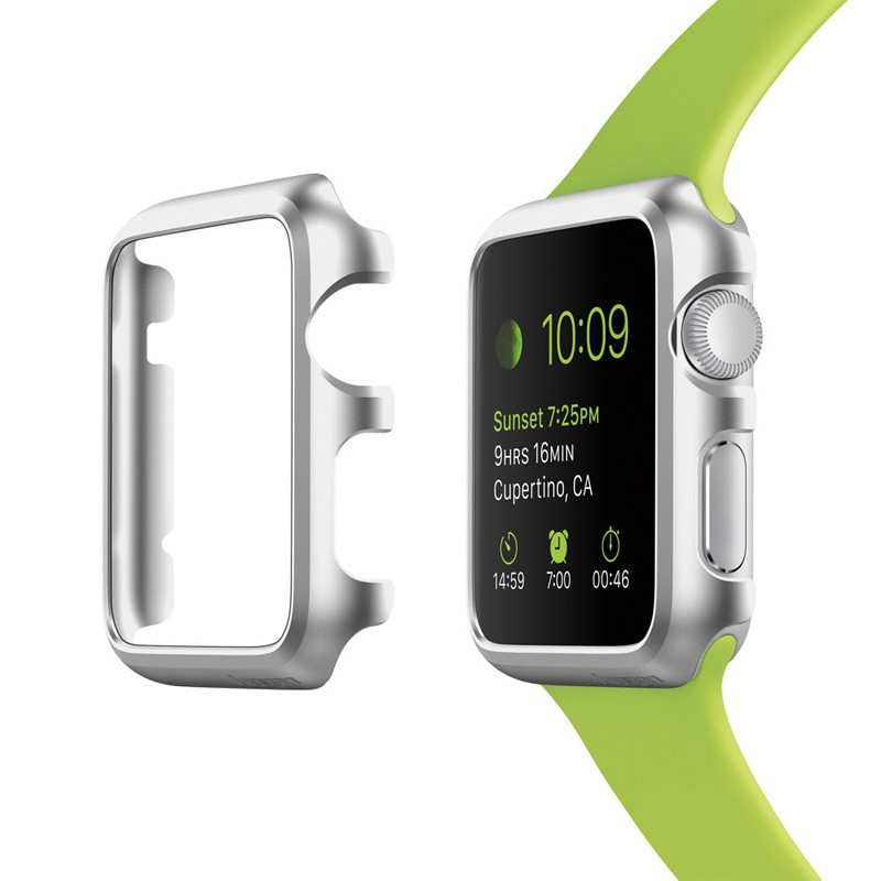 Spigen Thin Fit Case Apple Watch 38mm Silver - 2