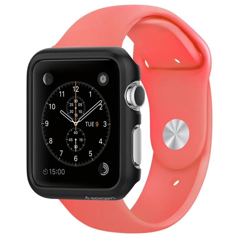 Spigen Thin Fit Case Apple Watch 42mm Black - 1