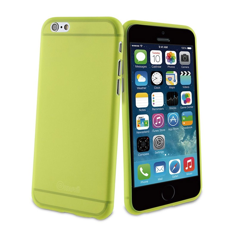 Muvit ThinGel iPhone 6 Plus Acid Green - 1