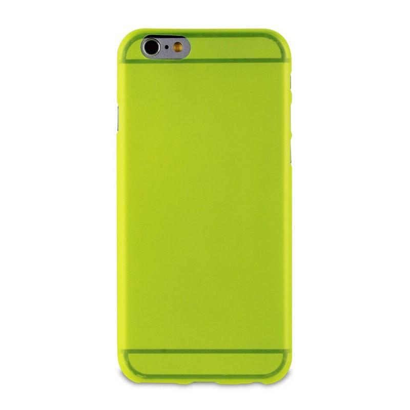 Muvit ThinGel iPhone 6 Plus Acid Green - 2