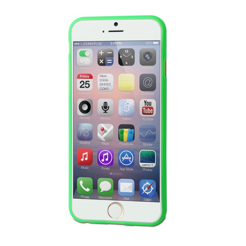 Muvit ThinGel iPhone 6 Plus Mint Green - 3