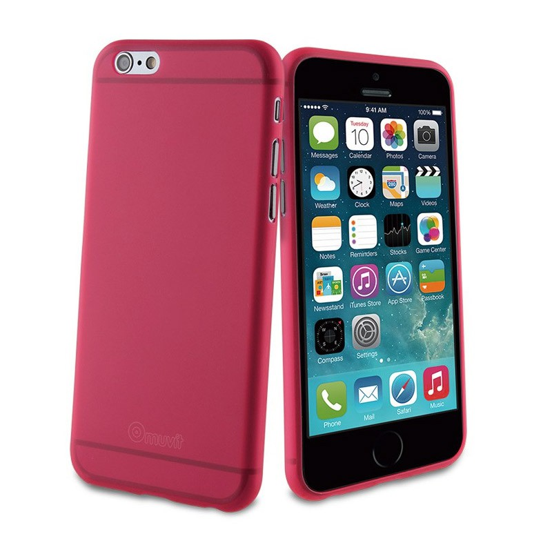 Muvit ThinGel iPhone 6 Plus Pink - 1