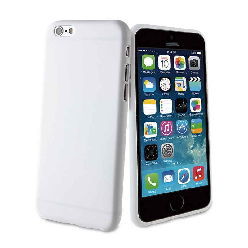 Muvit ThinGel iPhone 6 Plus White - 1
