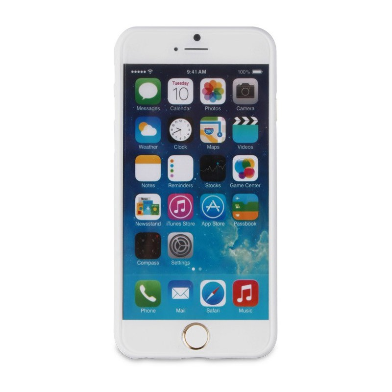 Muvit ThinGel iPhone 6 Plus White - 3