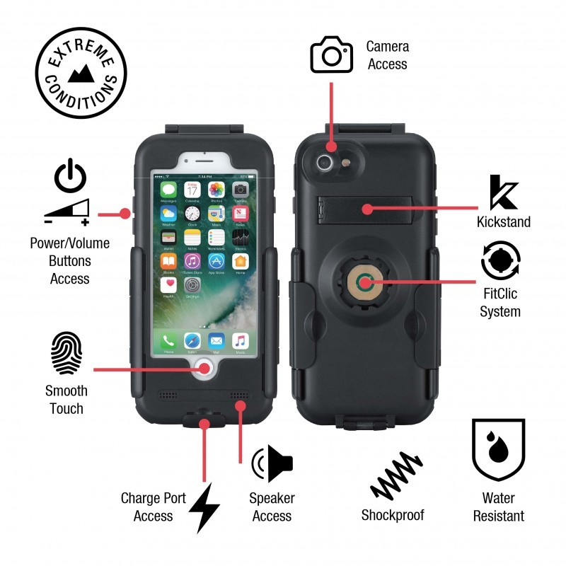 Tigra - Bike Console Fietshouder iPhone 7 02