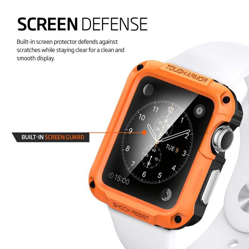 Spigen Tough Armor Case Apple Watch 42mm Gun Metal - 4