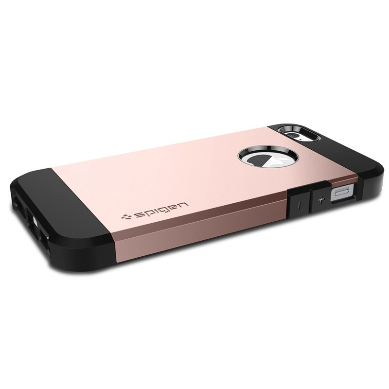Spigen Tough Armor Case iPhone SE / 5S / 5 Rose Gold - 3