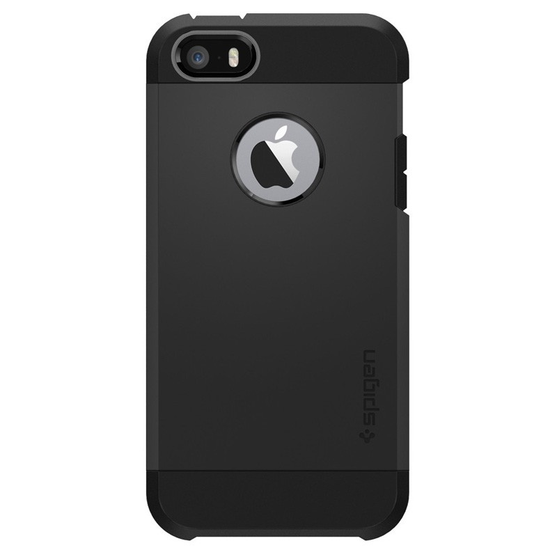 Spigen Tough Armor Case iPhone SE / 5S / 5 Black - 1