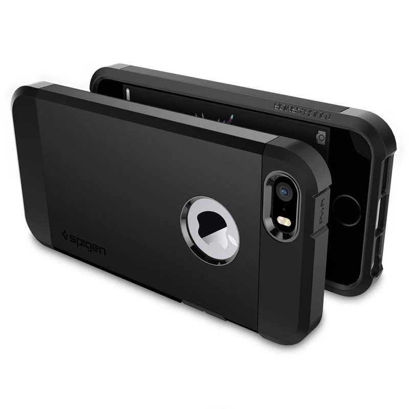 Spigen Tough Armor Case iPhone SE / 5S / 5 Black - 5