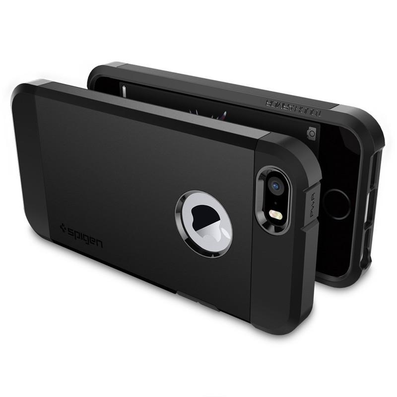 Spigen Tough Armor Case iPhone SE / 5S / 5 Black - 5