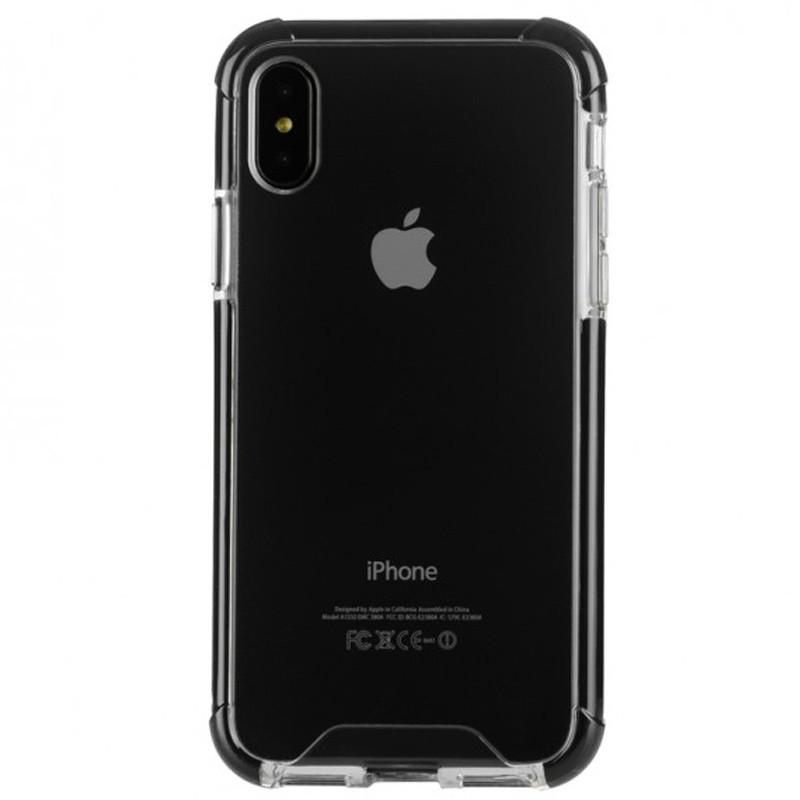 Tucano Denso iPhone X Hybride Hoes Zwart 02