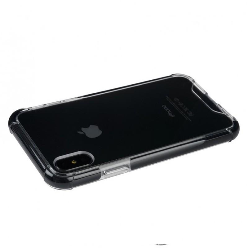 Tucano Denso iPhone X Hybride Hoes Zwart 01