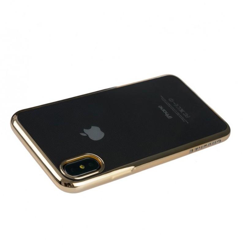 Tucano Elektro Flex iPhone X/Xs Hoesje goud 01