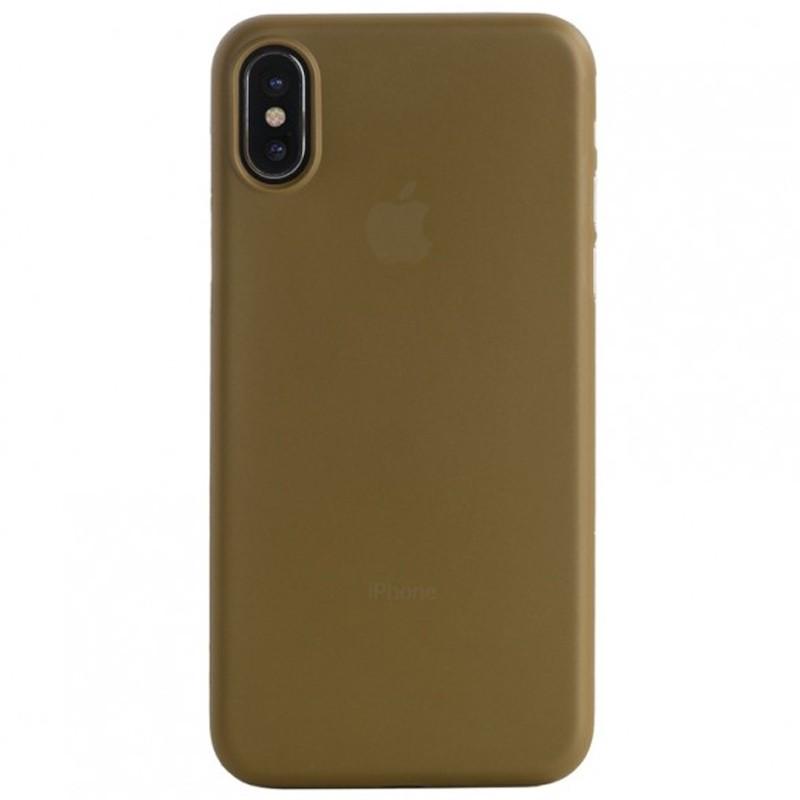 Tucano Nuvola 0,3 mm iPhone X/Xs Case goud 02