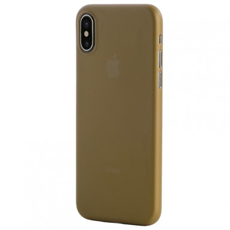 Tucano Nuvola 0,3 mm iPhone X/Xs Case goud 03
