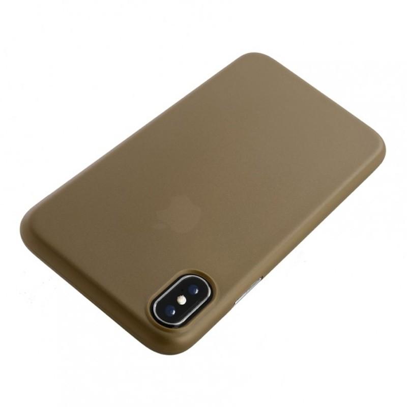 Tucano Nuvola 0,3 mm iPhone X/Xs Case goud 01