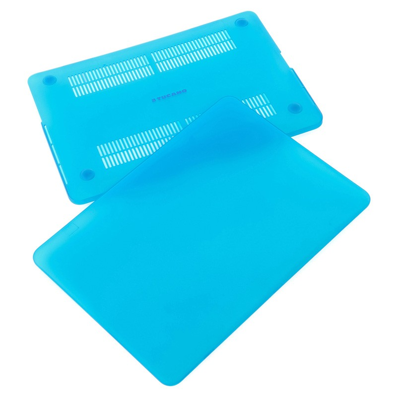 Tucano Nido Hard Shell Macbook 12 inch Blue - 4