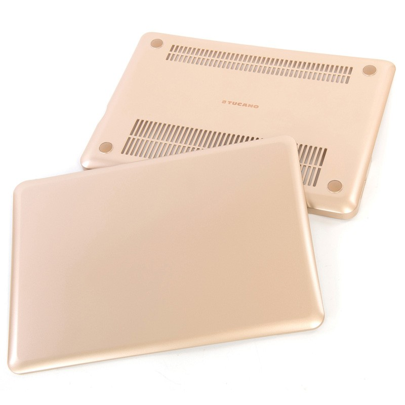Tucano Nido Hard Shell Macbook 12 inch Gold - 4