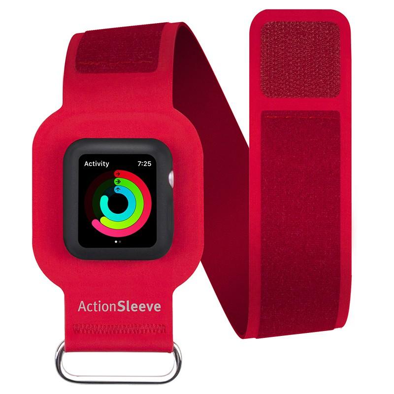 Twelve South - ActionSleeve voor Apple Watch 42mm Red 01