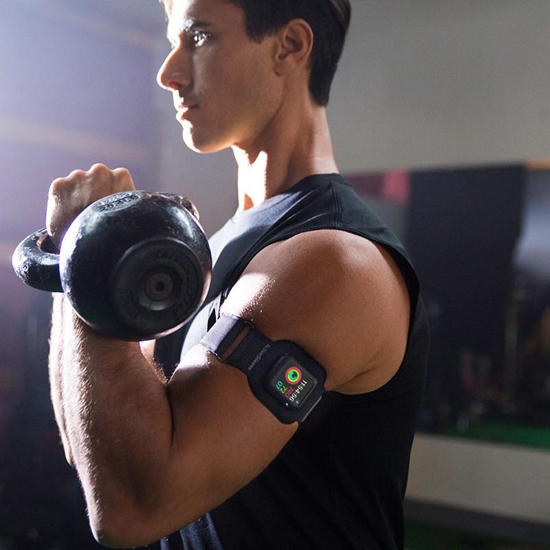 Twelve South - ActionSleeve voor Apple Watch 42mm Black 07