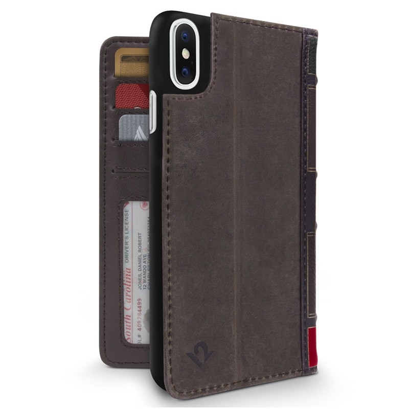 Twelve South BookBook iPhone XR Wallet Hoes Tijdelijk 03