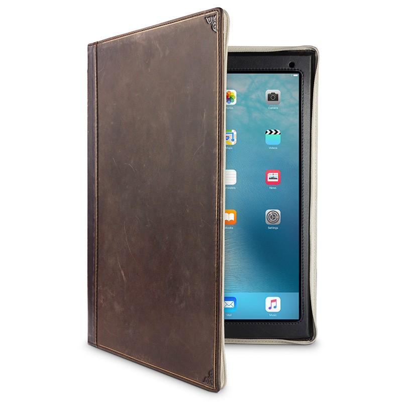 Twelve South - BookBook iPad Pro 12.9 inch Brown 01