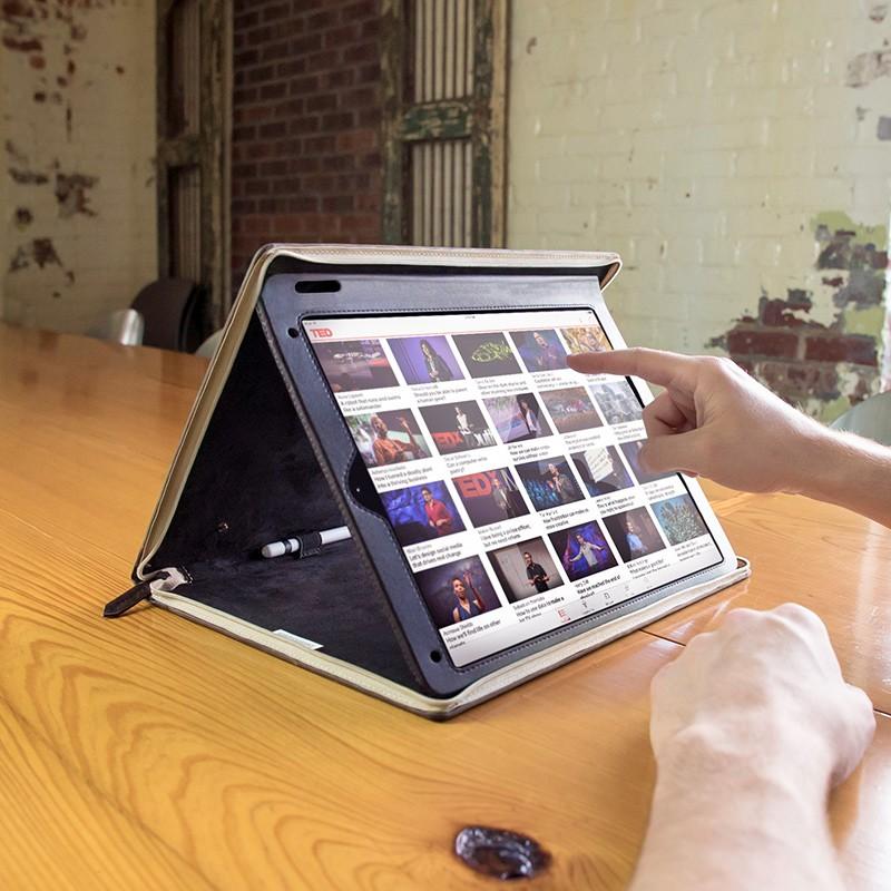 Twelve South - BookBook iPad Pro 12.9 inch Brown 08