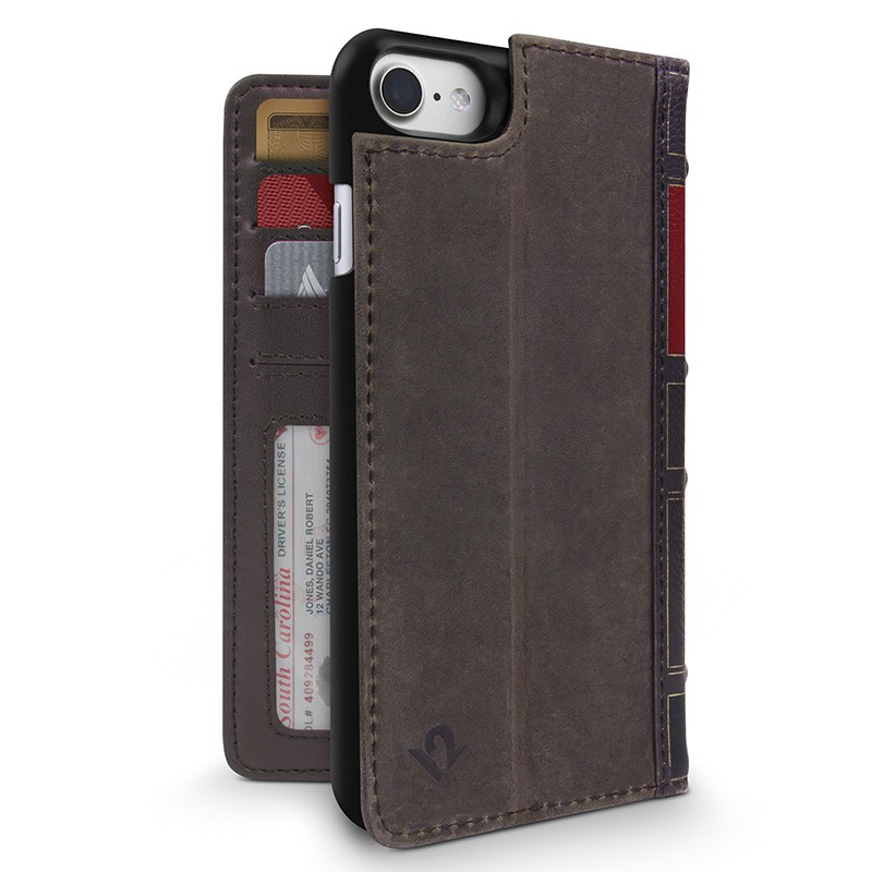 Twelve South - BookBook iPhone 7 hoesje Brown 01