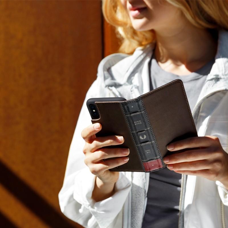 Twelve South BookBook iPhone X/Xs Wallet Bruin - 6
