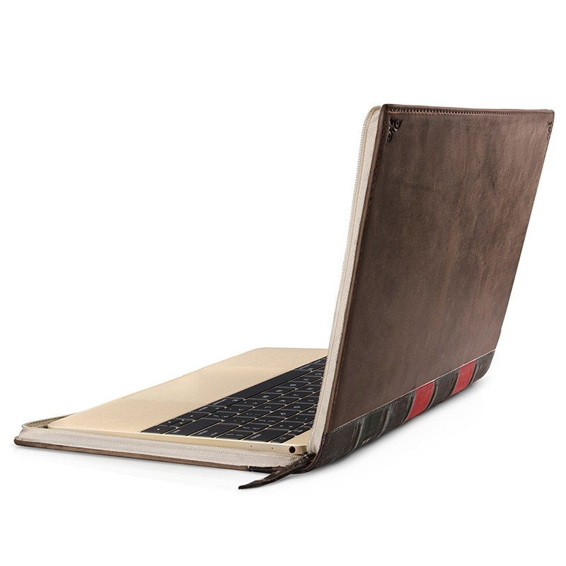 Twelve South - BookBook voor Apple Macbook 12 inch Brown 01