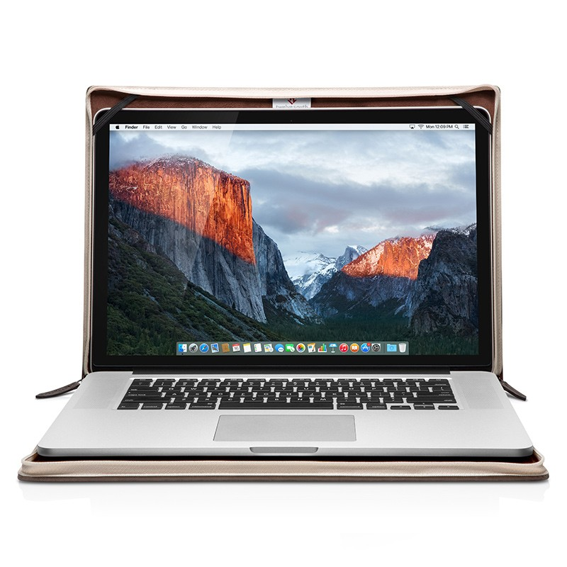 Twelve South - BookBook voor Apple Macbook 15 inch Brown 02