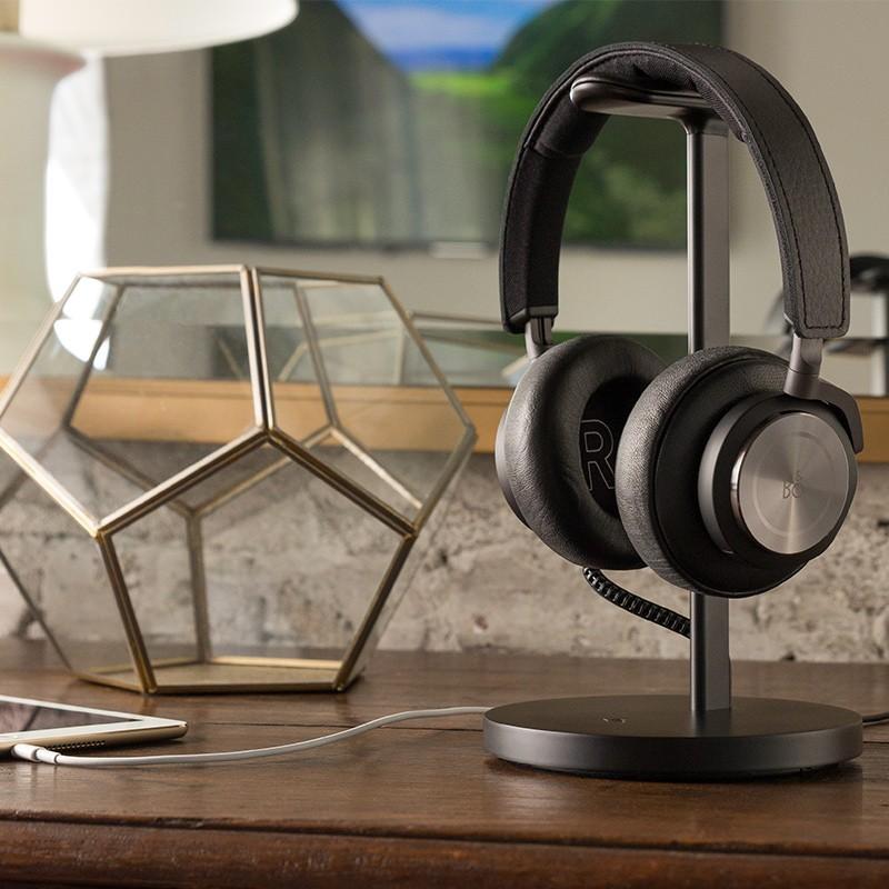 Twelve South - Fermata Headphone Charging Stand Black 04