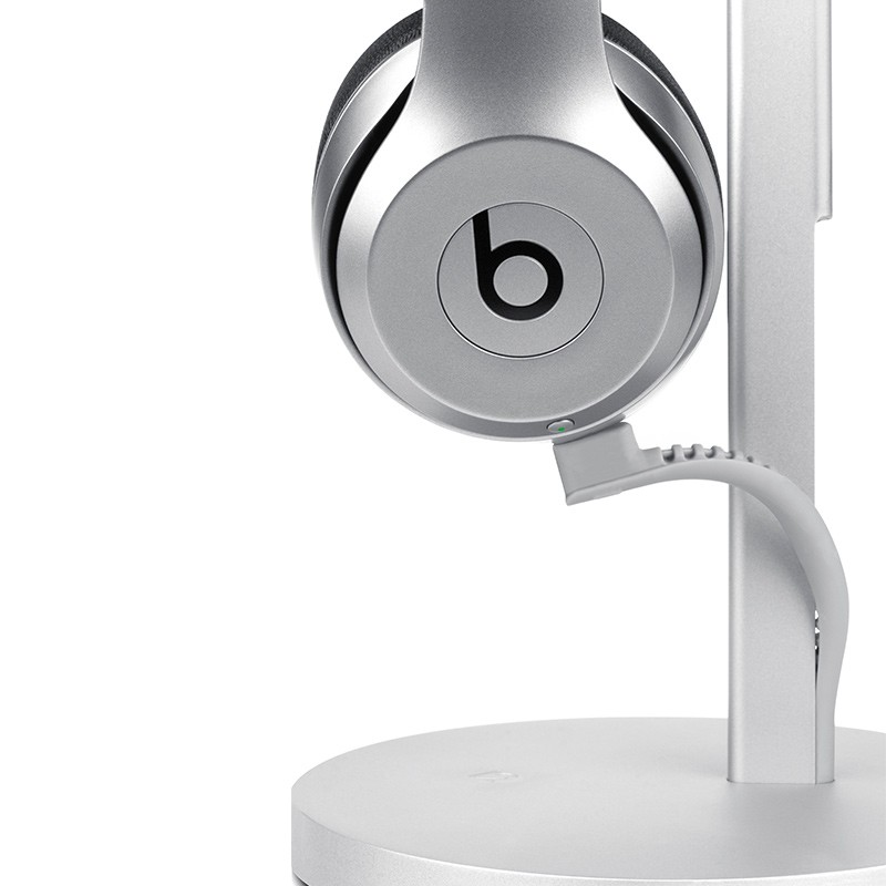 Twelve South - Fermata Headphone Charging Stand Silver 02