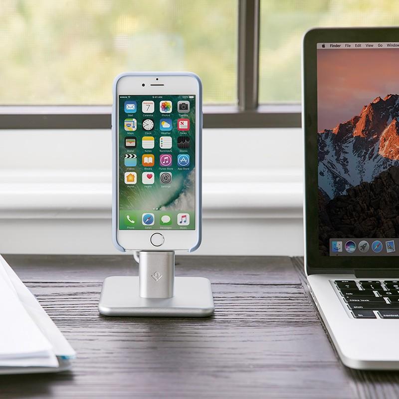 Twelve South - HiRise 2 voor iPhone en iPad Silver 08